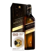 Johnnie Walker Double Black Label 750 Ml + Go Barman Botanico Whisky