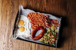 Śniadanie Angielskie Keto