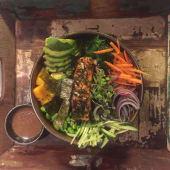 Menú healthy bowl