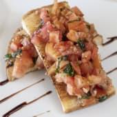 Bruschetta De Tomate Pan Bruschetta