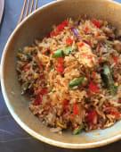 Смажений рис з крабом (325г)
