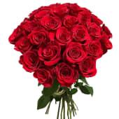 31 trandafiri rosii