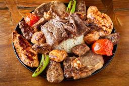 Karisik Izgara - zestaw mięs z grilla dla jednej osoby