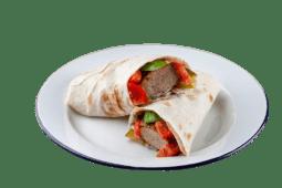 Люля-кебаб з курки в лаваші (300г)
