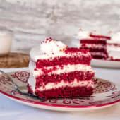 Tarta Red Velvet (sin gluten)