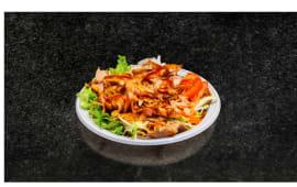 Piadina kebab con carne, verdure e salse