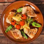 Secreto iberico / Piept de porc iberic la grătar