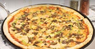 Pizza mushrooms XXL