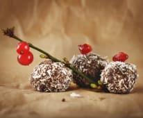 Bomboane energizante cu cocos