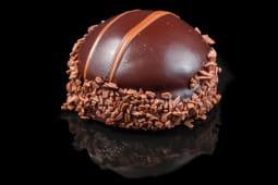 Prajitura mousse de ciocolata si dulceata de zmeura