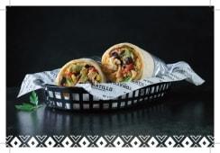 Burrito Veggie con Verdure Miste Saltate con spezie