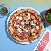 Pizza Cotto Funghi