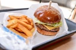 Latino Veggie Burger