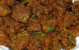 Curried Liver
