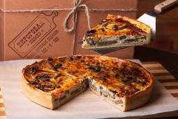 Французький пиріг з цибулевим мармеладом (150г)