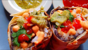 Burrito Quilombo Vegetariano