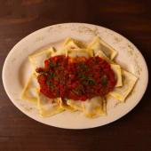 Ravioli De Carne All'arrabiatta