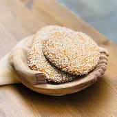 Galleta de almendra con miel, sésamo sin gluten y sin lactosa (3 uds.)