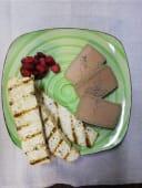 Легкий паштет из фуа-гра с хрустящими тостами