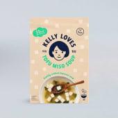 Sopa miso tofu