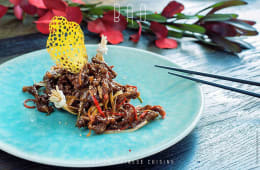Соломка з пікантної хрусткої яловичини (270г)