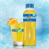 Aquarius Naranja botella 500ml.