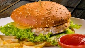 Курячий бургер (330/70/30г)