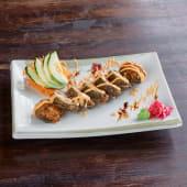 Crispy salmon maki (6pcs)