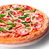 Pizza al gusto por mitades