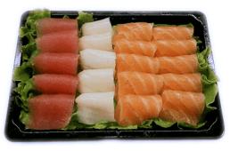 T8-11. Sashimi Misto 20 Peças