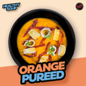 Orange pureed