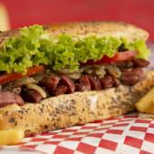 Sándwich de choripán