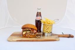 Meal DealGood Father Smash Double Cheeseburger