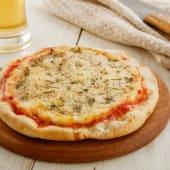 Pizza muzzarella + bebida