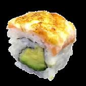 Uramaki salmón caramelizada (8 uds.)