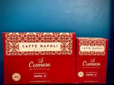"""50 Capsule Caffè Napoli """"Cremoso"""" compatibili Nespresso"""