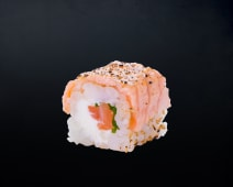 California Rolls - Salmon Aburi Roll