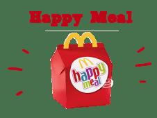 Choisissez votre Happy Meal