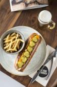 Sándwich New York hot dog