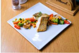 Судак з овочами гриль (120/150г)