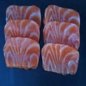 Sashimi salmón (6 uds)
