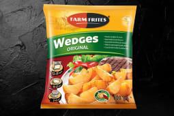 Cartofi wedges congelați