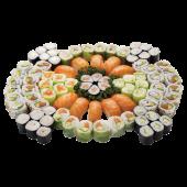 Menu friendly classic - 88 pièces : 6 Haru saumon,6 Haru thon cuit,