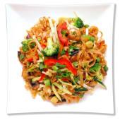 Tallarines Anchos Vegetariano / Vegetarian Pad Thai