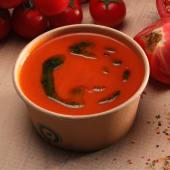 Supă cremă de roșii cu pesto