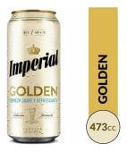 Cerveza Imperial Golden Rubia x 473 ml.