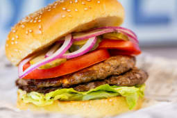 Дабл бургер с говядиной