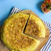 Tortilla de patatas con 4 quesos (mediana)