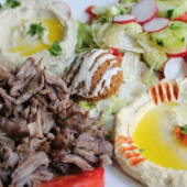 29.1. Combinado Shawarma - Con ensalada