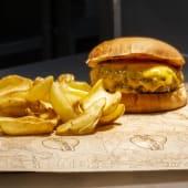 Menú infantil hamburguesa